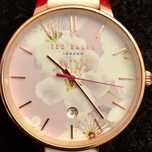 Ted Baker Rose Gold Stainless Steel Watch